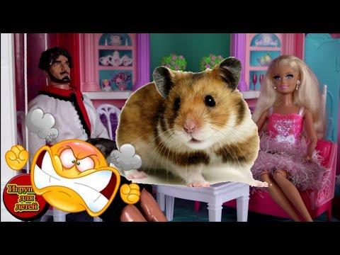 Барби 2017, Томми хомяк, Богатыри в доме мечты Барби ...