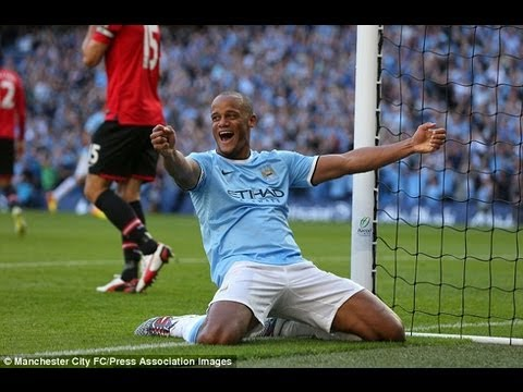 Vincent Kompany vs Manchester United F.C. (H) 13/14 PL By ChequeredCrown