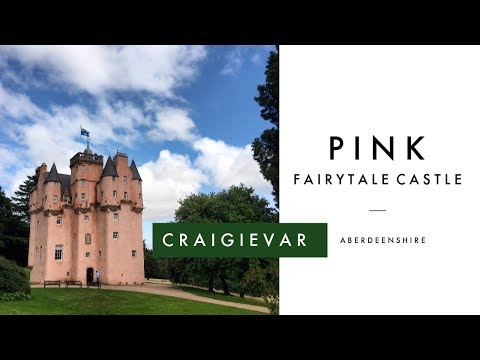 Craigievar Castle - Scotland's Pink Fairytale Castle