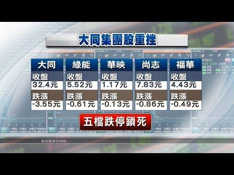 華映、綠能爆財務危機 拖累大同集團 20181214 公視晚間新聞