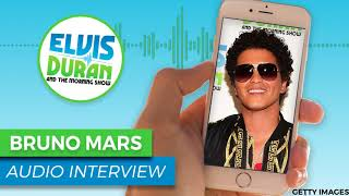 Bruno Mars Reaction to His Grammy Nominations | Elvis Duran Show