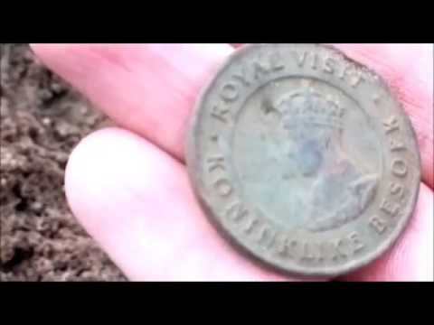 Coin Hunting South Africa metal detecting
