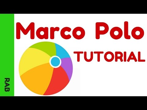 Marco Polo App Video - Video Messaging Tutorial