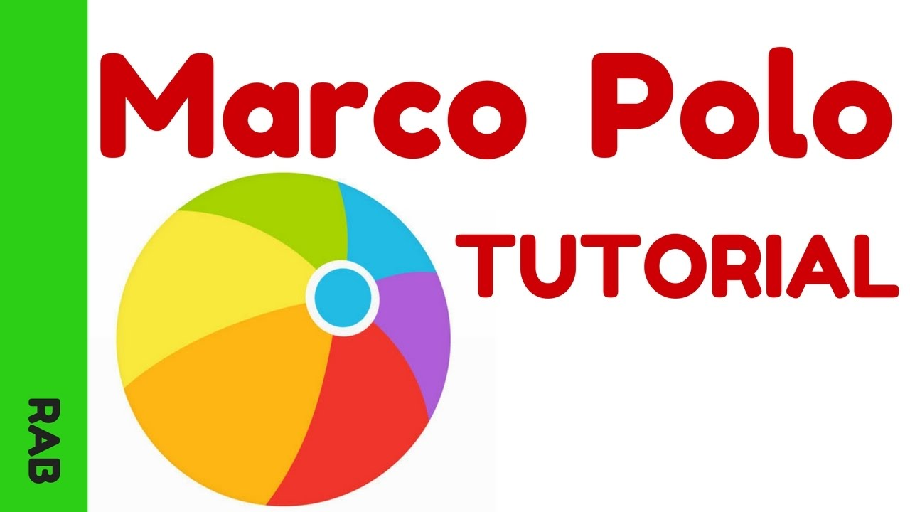 Marco Polo App Video - Video Messaging Tutorial - YouTube