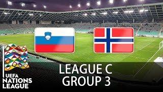 Slovenia vs Norway - 2018-19 UEFA Nations League - PES 2019