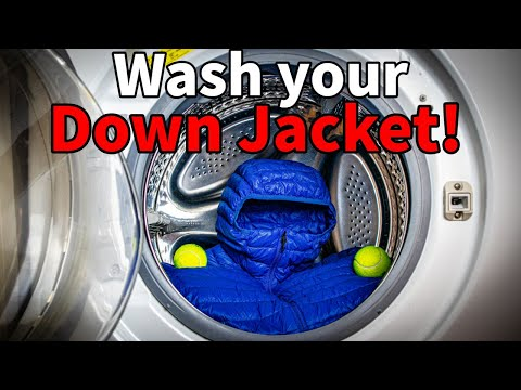 How To Wash A Down Jacket | 5 Simple Steps |