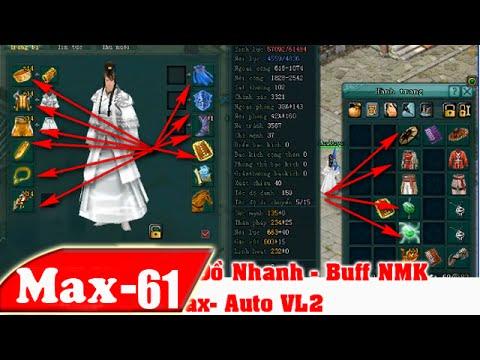 Cách Dùng Auto Thay Đồ & Buff NMk – Max-Auto VL2 | NhacMax -P61 | Võ Lâm 2