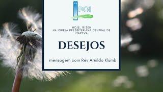 IP Central de Itapeva - Culto de Domingo Noite - 26/07/2020