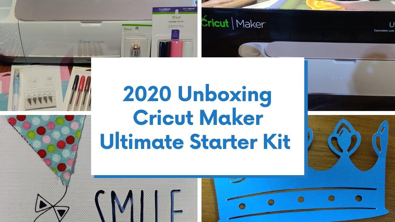Cricut Maker UNBOXING   Ultimate Starter Kit   2020 - YouTube