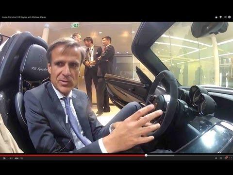 Inside Porsche 918 Spyder with Michael Mauer