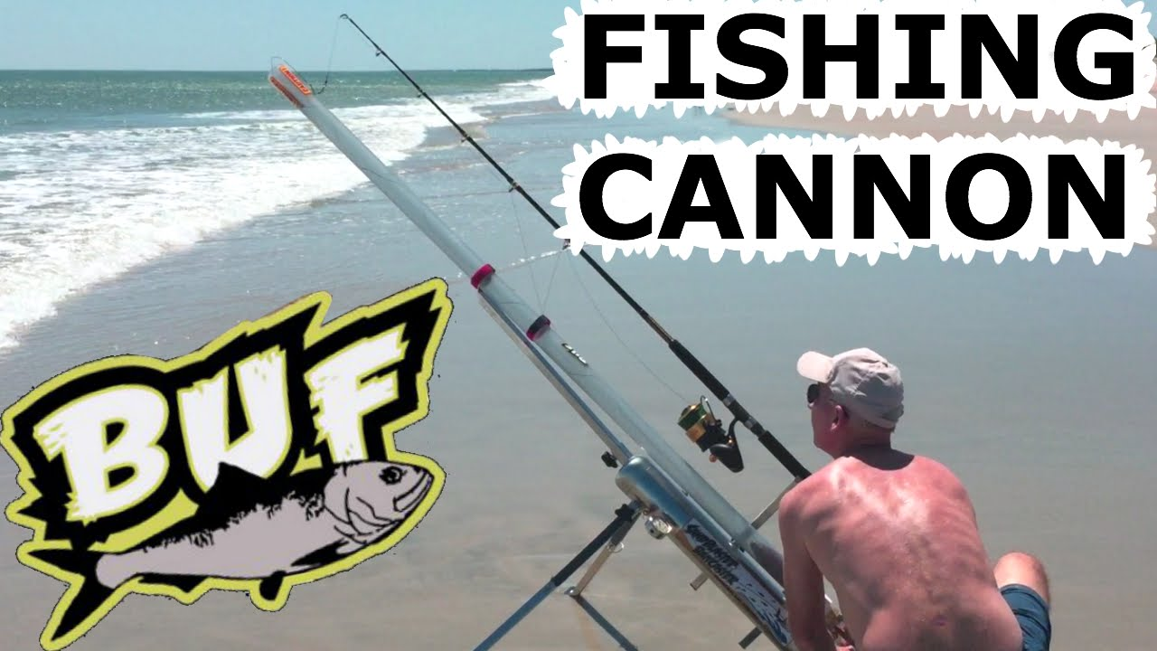 Beach Fishing Cannon Bait Caster 300 Yard Casting Offshore