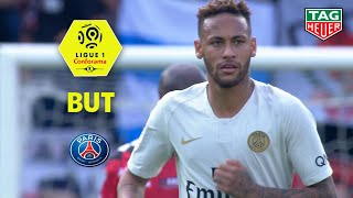 But NEYMAR JR (53' pen) / EA Guingamp - Paris Saint-Germain (1-3)  (EAG-PARIS)/ 2018-19