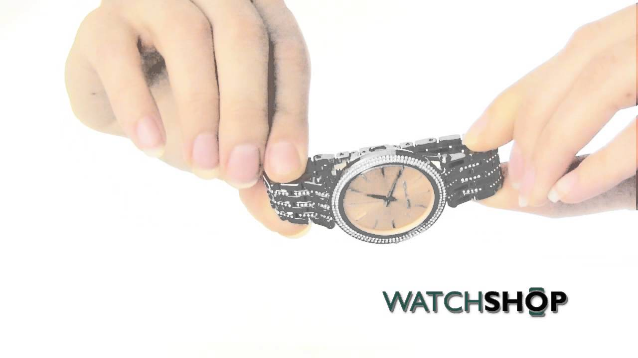f6325d28d46c Michael Kors Ladies  Darci Glitz Watch(MK3218) - YouTube