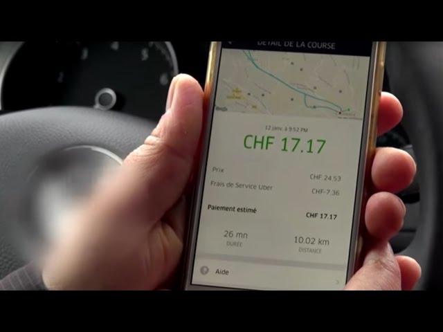 Économie collaborative : le cas d'Uber à Lausanne