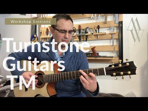 Turnstone Guitars TM Cutaway (Brazilian Mahogany + Alpine Spruce) Workshop Sessions - Michael Watts