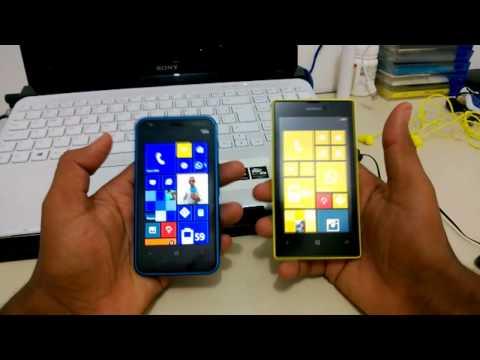 Nokia Lumia 620 vs Lumia 520 Português
