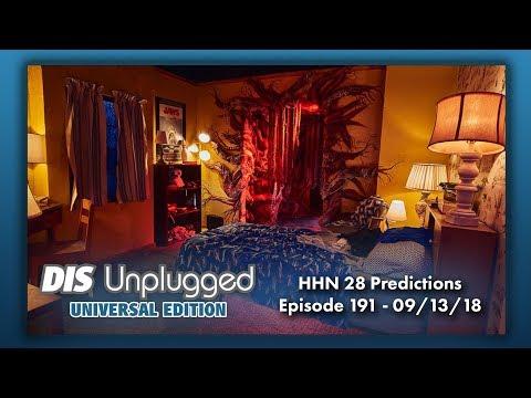 Halloween Horror Nights 28 Predictions   Universal Edition   09/13/18