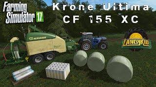 Farming Simulator 17  | Mod Review | Krone Ultima CF 155 XC