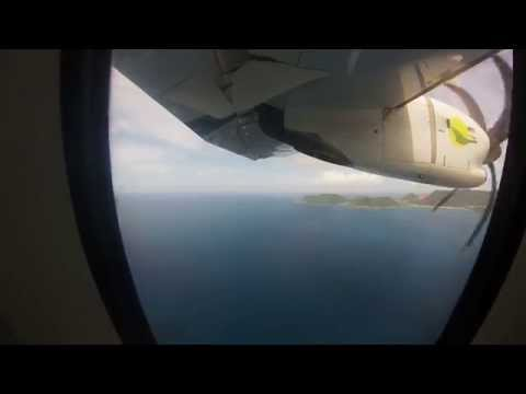 Landing F-OIXO at SFG St-Martin Grand Case | Air Antilles Express