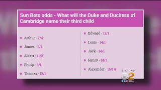 Bets Placed On Royal Baby's Name