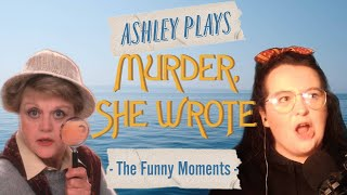 """""""I've got a full Clam Bucket!"""" Ashley plays Murder, She Wrote! the game- Funny Moments!"""