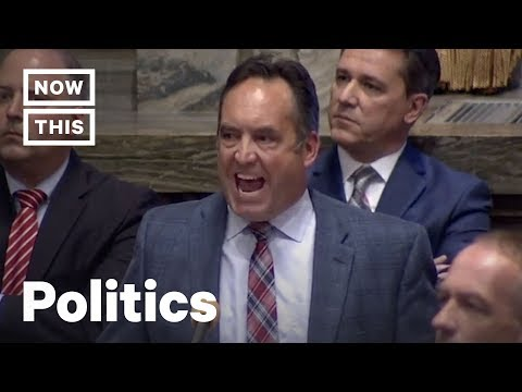 State Senator Persists As Republican Man Yells Over Her For 3 Minutes | NowThis