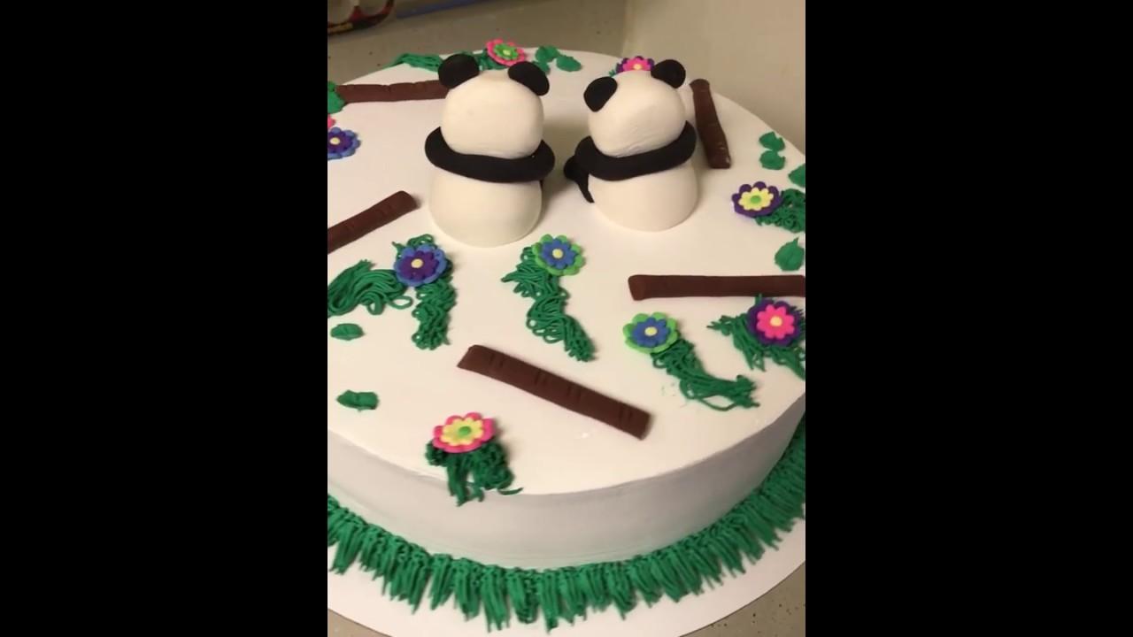 panda bears cake pastel de pandas