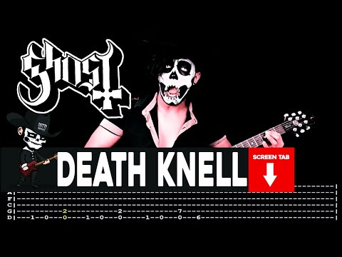 Ghost - Death Knell (Guitar Cover by Masuka W/Tab)