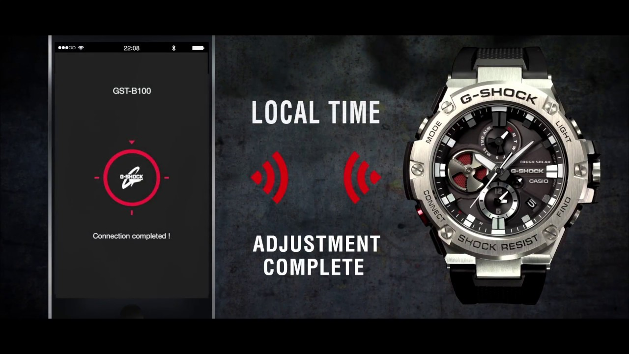 c66fafb9b646 G-STEEL Bluetooth - GST-B100 | Product Video. Casio UK