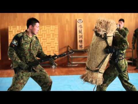 JGSDF Demonstrates Martial Arts to Darkhorse