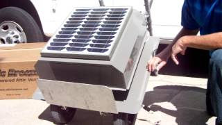 Attic Breeze Solar Powered Attic Vent.cape Coral,fort Myers