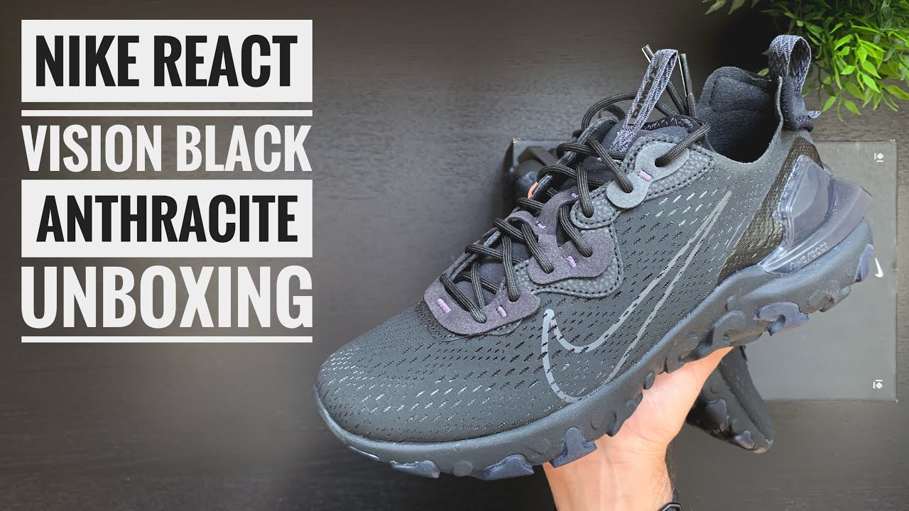 Nike React Vision 'Vast Grey' | Unboxing | 4K | Sneaker Therapy ...