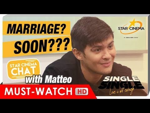 FULL HD | Star Cinema Chat with Matteo Guidicelli | 'Single Single The Movie'