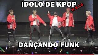 figcaption Boygroup coreano rebolando e dançando funk brasileiro ft B.I.G | Kpop idol twerking brazilian funk