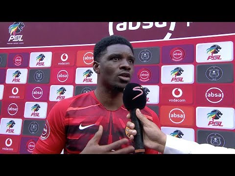 Absa Premiership   Orlando Pirates v Kaizer Chiefs    Post-match interview with Daniel Akpeyi
