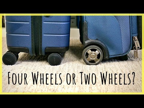 2-Wheel Vs 4-Wheel Suitcase | Tips For Picking The Right Bag