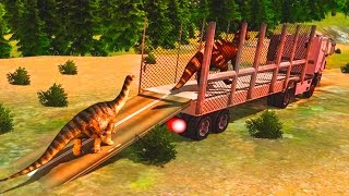 Jurassic Dino Transport Truck Android Gameplay HD Video