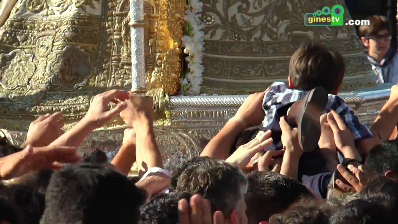 COMPLETO 1 Lunes de Pentecostés con la Hermandad de Gines 2016