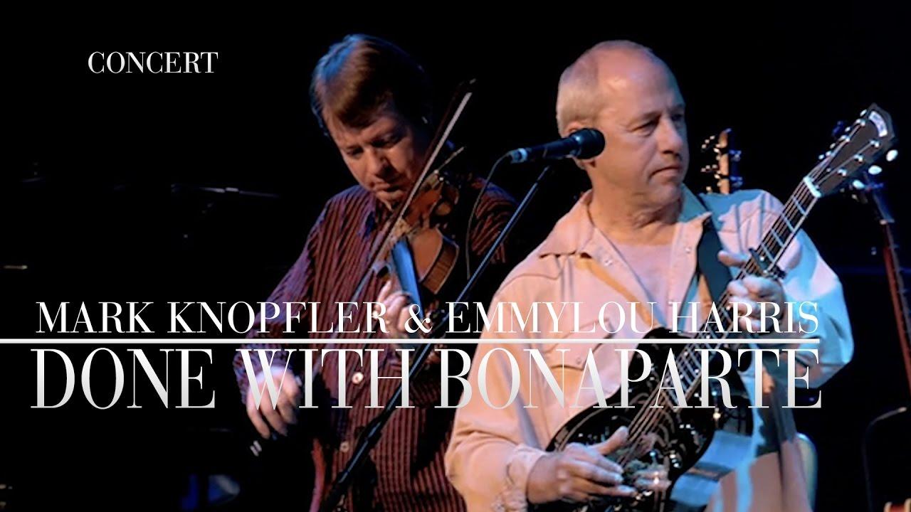 Resultado de imagen de Mark Knopfler & Emmylou Harris - Real Live Roadrunning - Full Concert (HD)