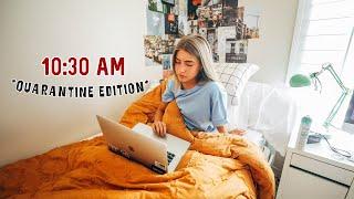online school morning routine *in quarantine*