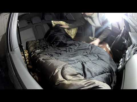 How I Sleep In The Car