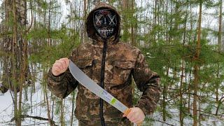 бразильский нож - мачете для выживания.