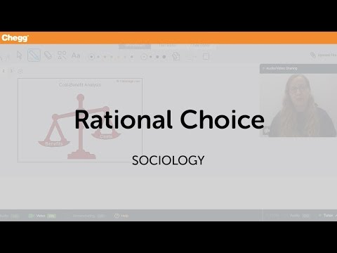 Rational Choice | Sociology | Chegg Tutors