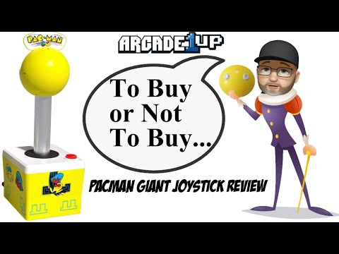 Review: It's a Giant Pac-Man Joystick From Arcade 1Up. Should you WAKA way from this novelty item? from moxxi