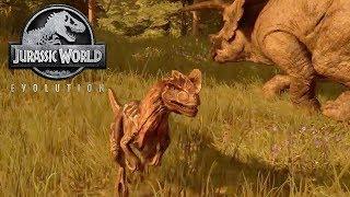JURASSIC WORLD EVOLUTION #8 - UN NUOVO TERRIBILE CARNIVORO - GAMEPLAY ITA