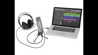 как подключить микрофон к компьютеру mac