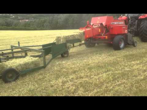 Small baling with Massey Ferguson 1840 baler