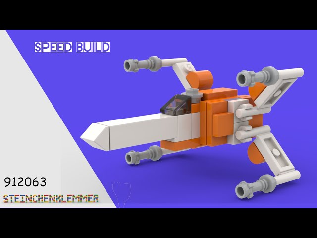 912063 Rsistance X Wing™ | Speed Build