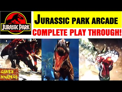 Jurassic Park Arcade COMPLETED!!! FULL PLAYTHROUGH