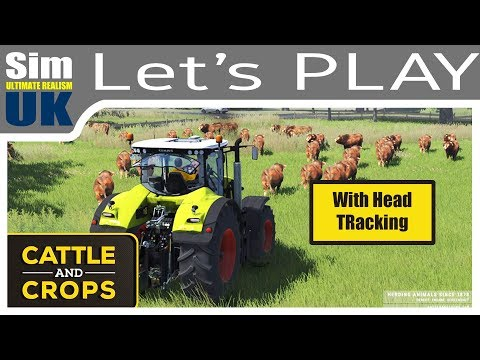 Working the Field | Cattle & Crops +EDTracker | Let's Play #2 Early Access